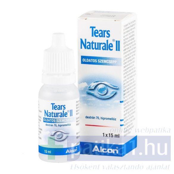 Tears Naturale II. oldatos szemcsepp 15 ml