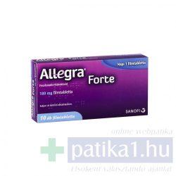 Allegra Forte 180 mg filmtabletta 10 db
